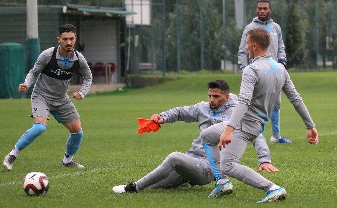 Trabzonspor, Altay maçının hazırlıklarına başladı