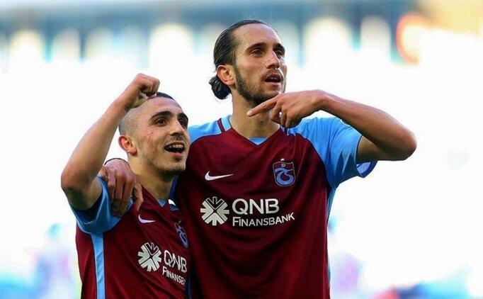 Trabzonspor'un marka yüzleri Abdülkadir Ömür &Yusuf Yazıcı