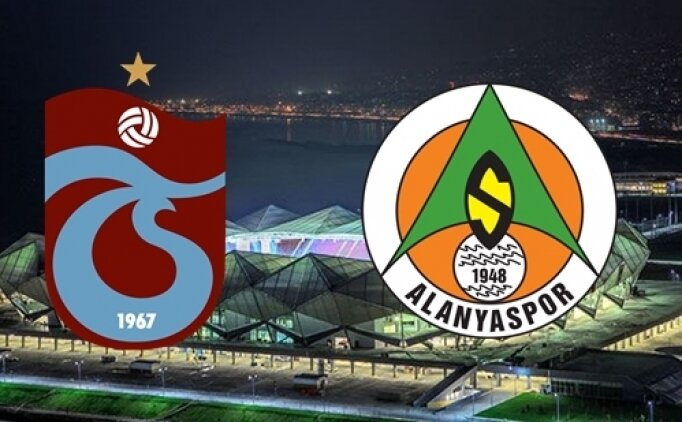 Trabzonspor Alanyaspor maçı canlı hangi kanalda? Trabzonspor Alanyaspor maçı saat kaçta?