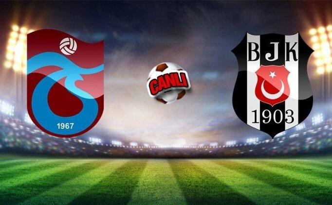 MAÇ ÖZETİ Trabzonspor Beşiktaş maçı