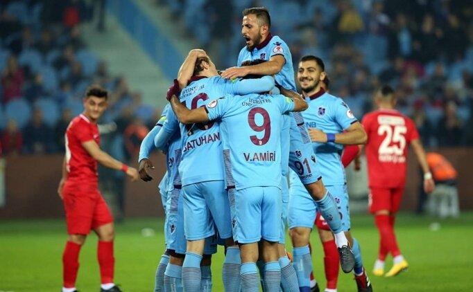 Trabzonspor'un kupada konuğu Balıkesirspor