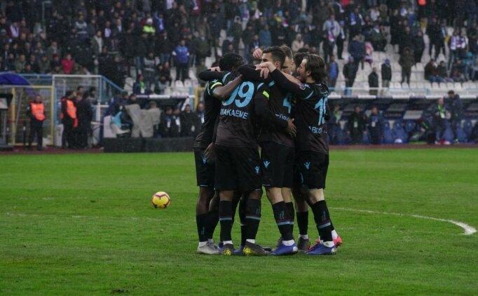 Trabzonspor, Erzurum'da tek golle güldü!