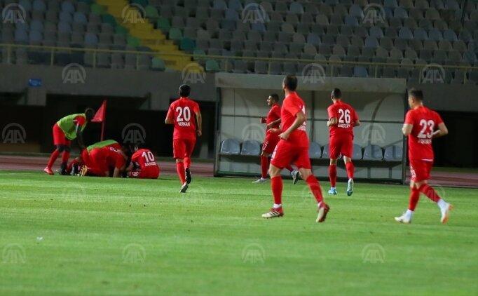 Ümraniyespor, 10 kişi kalan Altay'ı mağlup etti