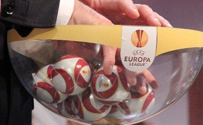 UEFA Avrupa Ligi'nde muhtemel rakipler belli oluyor