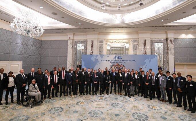 FIFA zirvesi İstanbul'da başladı