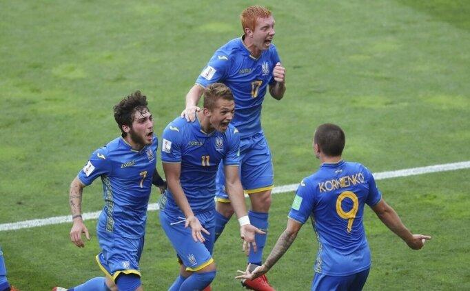 U20 Dünya Kupası'nda şampiyon Ukrayna!
