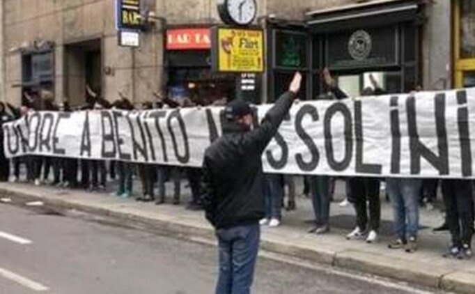 Lazio ve İnterli taraftarlara soruşturma!