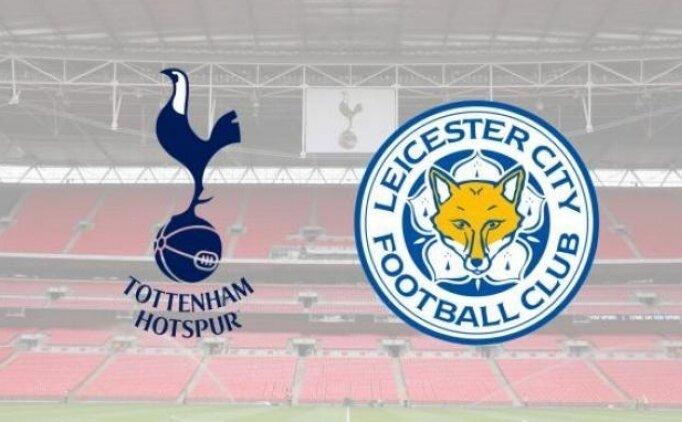 Tottenham Leicester City maçı canlı hangi kanalda? Tottenham Leicester City maçı saat kaçta?