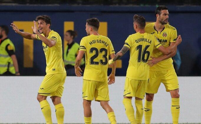 Villarreal, El Madrigal'de maçı söktü aldı!