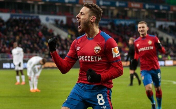 Beşiktaş'ın gözdesini CSKA kaptı!