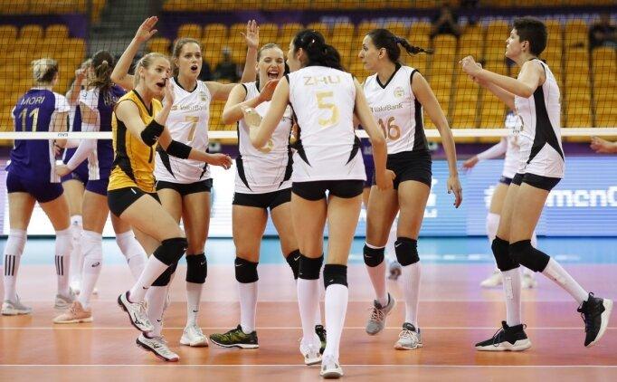 Kadınlar FIVB Dünya Kulüpler Şampiyonası Salı günü Çin'de başlayacak