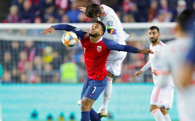 İspanya, Norveç'te 2 puan bıraktı!