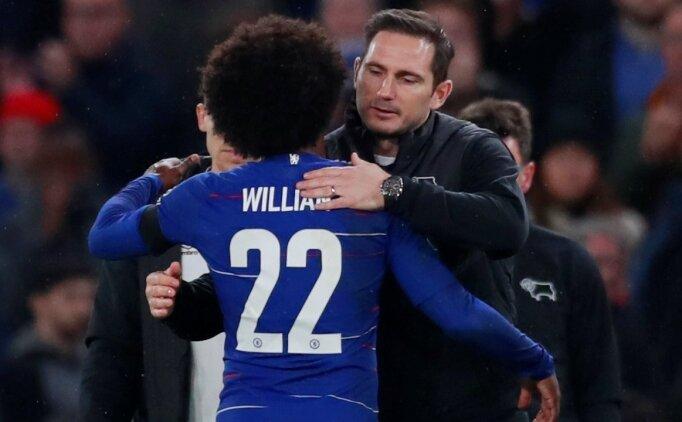 Willian: 'Lampard'a zaman verilmeli'