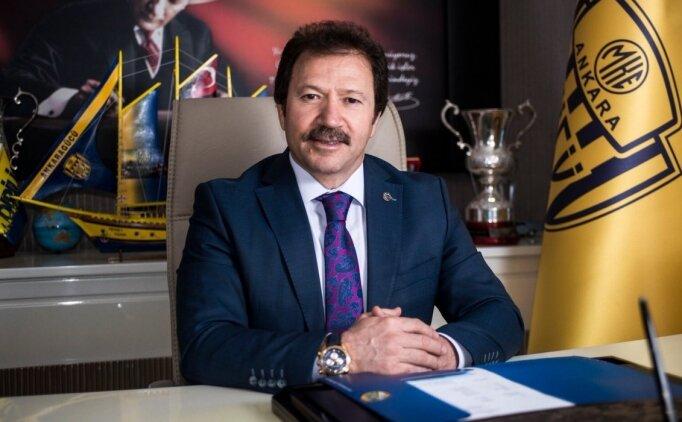 Ankaragücü'nde Mehmet Yiğiner ve Murat Ağcabağ başkanlık için yarışacak