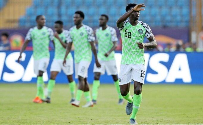 Nijerya'yı Kenneth Omeruo kurtardı!