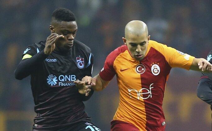 Galatasaray 4 sakat 1 cezalı kadrosu ile Trabzonspor'a konuk oluyor