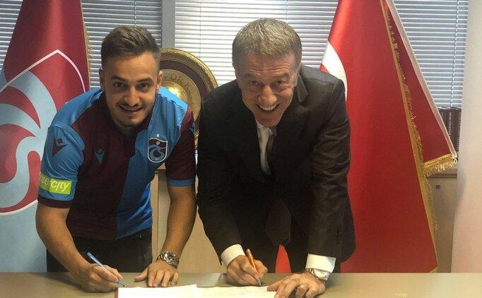 Trabzonspor'dan Yusuf Sarı için KAP geldi!