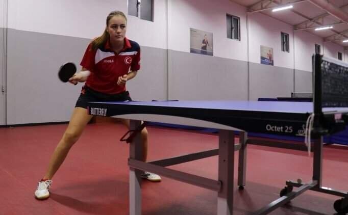 Milli masa tenisçi Ece Haraç, TİGEM Spor'da