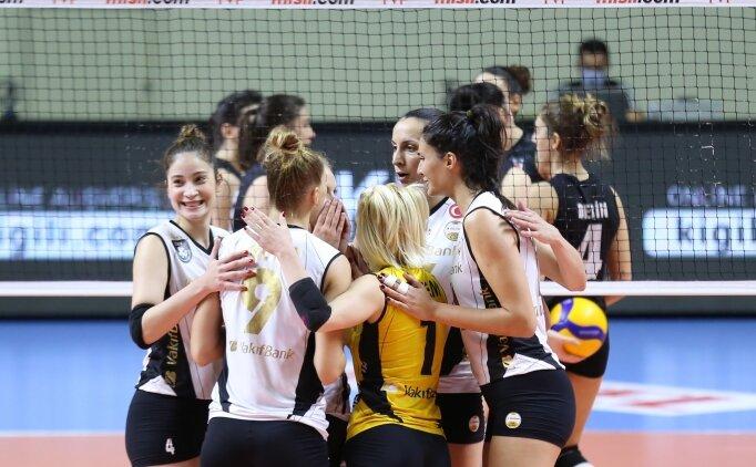 VakıfBank, Beşiktaş'ı yendi ve 7'de 7 yaptı