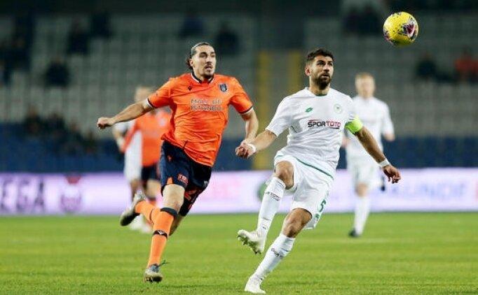 İlk 11'ler: Konyaspor - Başakşehir