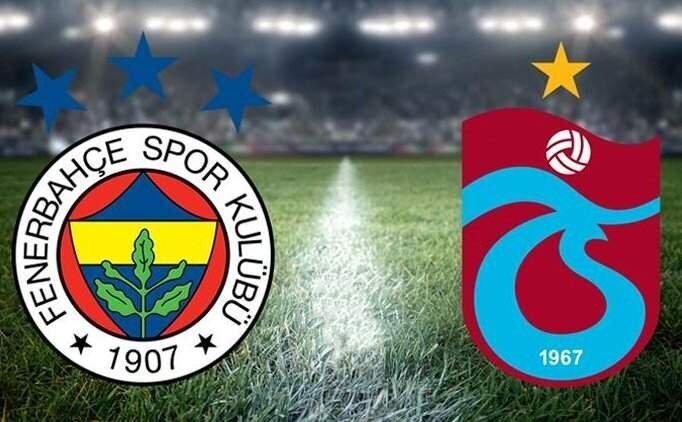 CANLI izle Fenerbahçe Trabzonspor maçı şifresiz yayın, FB TS maçı kaç kaç?