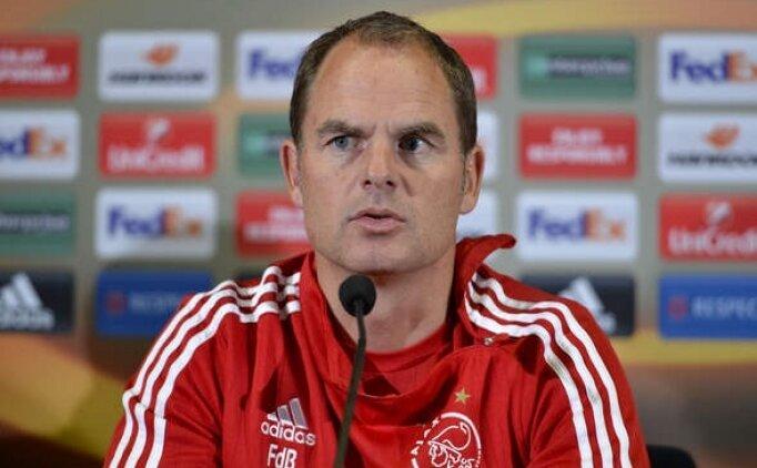 Frank De Boer Hollanda Milli Takımı ile imzaladı