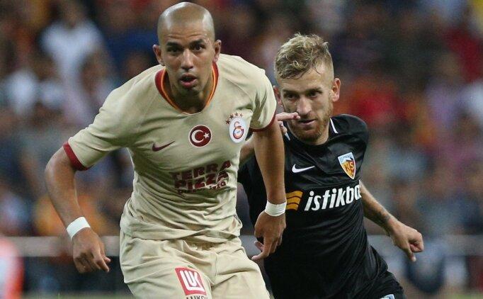 Galatasaray - Kayserispor; muhtemel 11'ler
