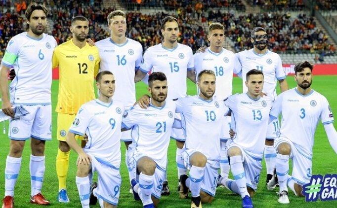 San Marino 6 yıl sonra ilk kez puan aldı