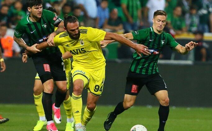 Fenerbahçe'de Denizli maçına saatler kala sakatlık