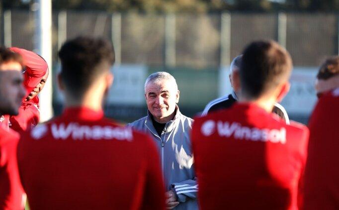 Lider Sivasspor, ikinci yarı hazırlıklarını sürdürdü