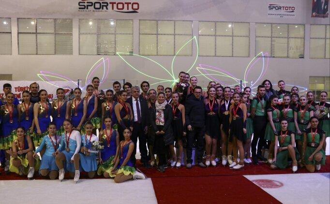 Senkronize Buz Pateni Türkiye Şampiyonası sona erdi