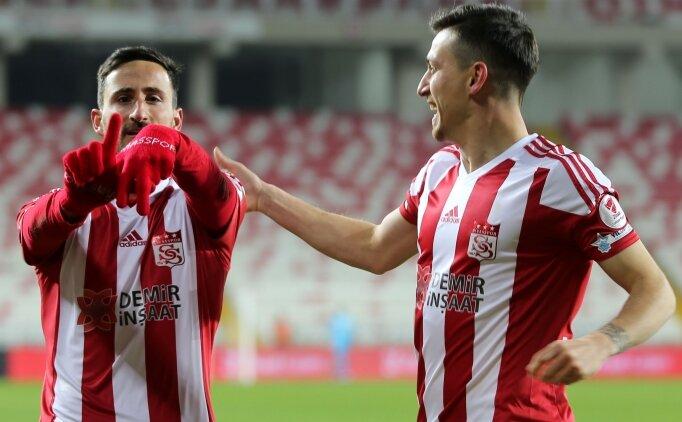 Ligin lideri Sivasspor, kupada da şov yaptı!