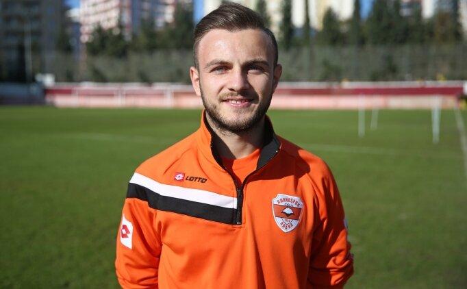 Celil Yüksel: 'Adanaspor kariyerim açısından çok iyi bir basamak'