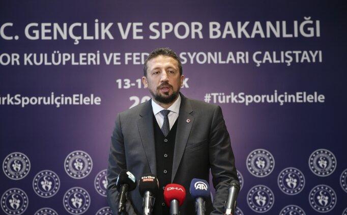 Türkoğlu: 'Tecrübelerimizi diğer federasyonlarla paylaşmaya hazırız'