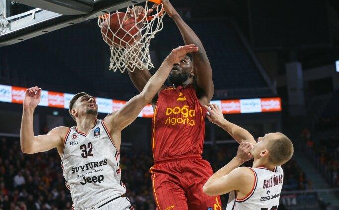 Galatasaray Doğa Sigorta, Rytas Vilnius'a kaybetti