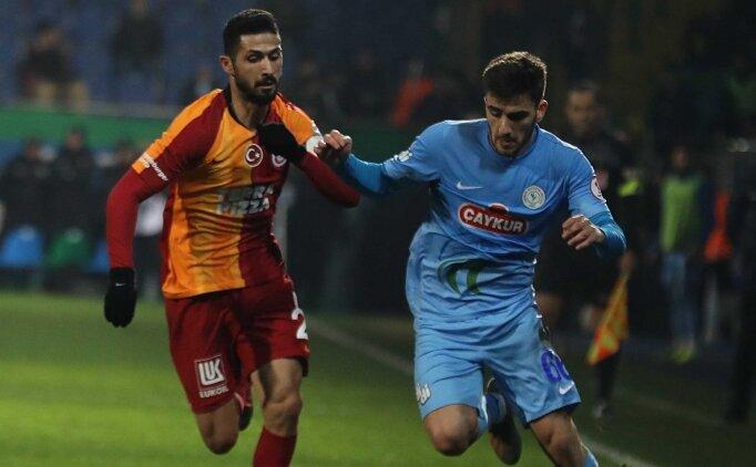 Galatasaray ve Ç.Rizespor tur için sahaya çıkacak