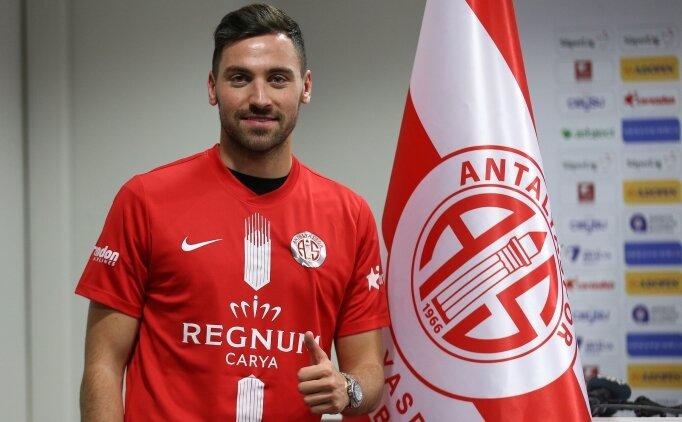 Antalyaspor, Sinan Gümüş'e imzayı attırdı