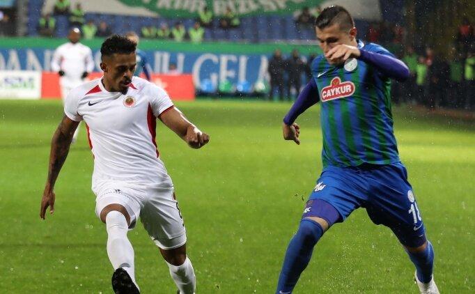 Rizespor, yeni transferiyle 2-0 kazandı!