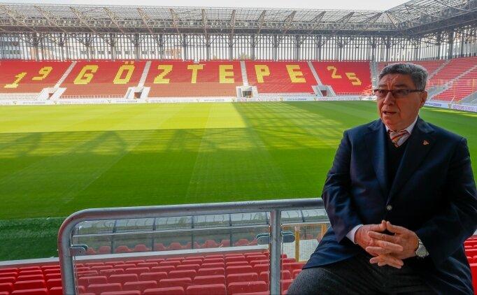 Göztepe'nin yeni stadı, efsane ismi de heyecanlandırdı