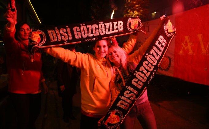 Göztepe - Beşiktaş maçına 'uçarak' geldiler