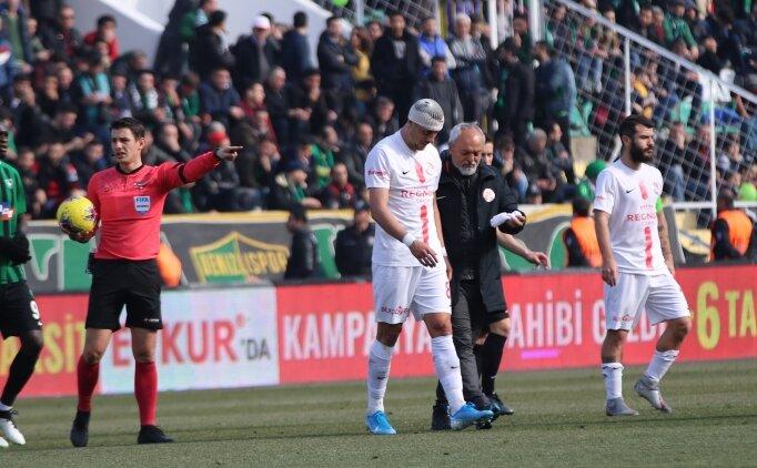 Antalyaspor'da Jahovic'in kafatasında çatlak tespit edildi!