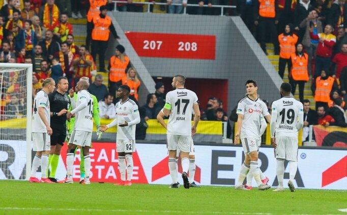 Göztepe'den Beşiktaş'ın 'kural hatası' başvurusuna tepki