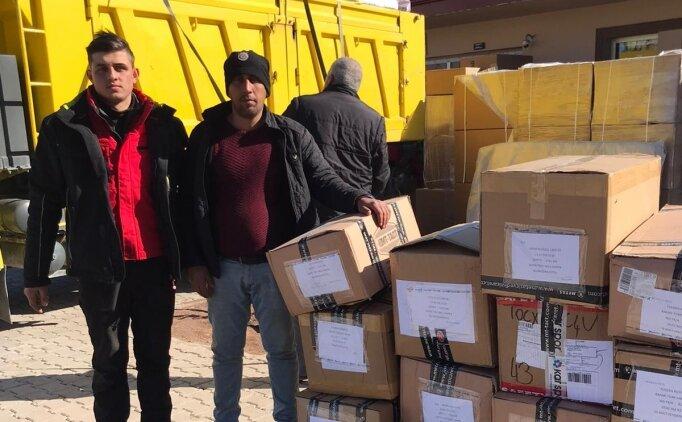 Kayak Federasyonundan depremzedelere yardım