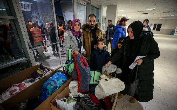 TOFAŞlı taraftarlardan depremzedelere yardım