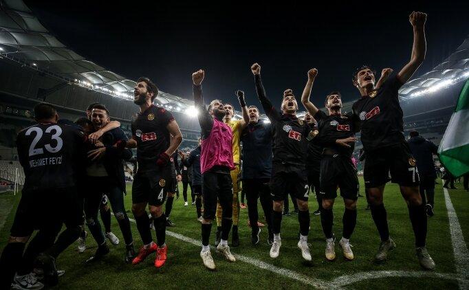 Eskişehirspor'dan deplasmanda sürpriz galibiyet