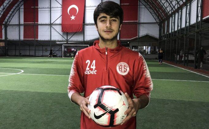 Suriye asıllı Türk futbolcunun hedefi A Milli Takım'da oynamak
