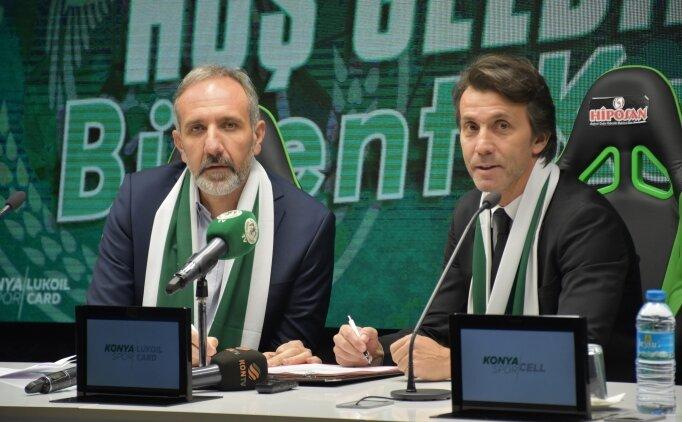 Bülent Korkmaz, İttifak Holding Konyaspor'a imzayı attı