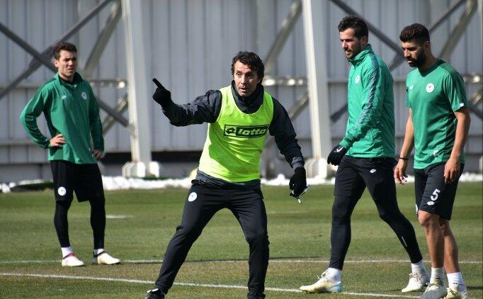 Bülent Korkmaz, Konyaspor ile ilk antrenmanına çıktı