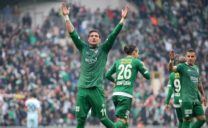 Bursaspor, Süper Lig modunu açtı