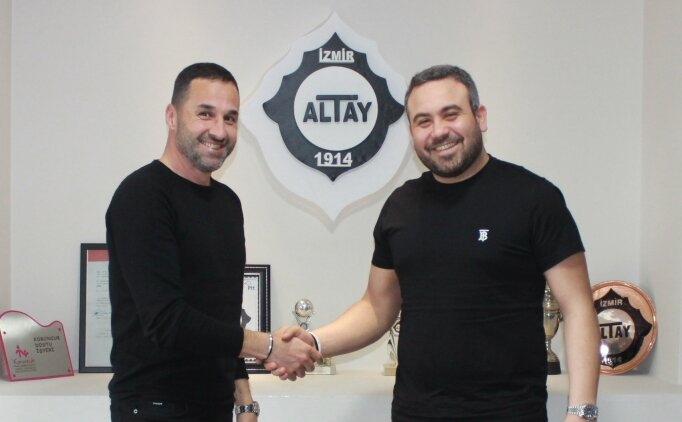 Altay'ın yeni teknik direktörü Yalçın Koşukavak